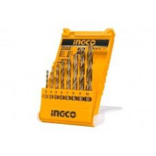 Набор сверл по металлу 8 шт INGCO AKDB1088