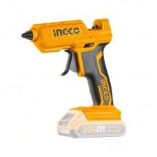 Аккумуляторный клеевой пистолет 20 В INGCO CGGLI2001