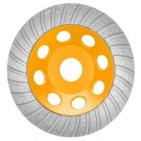 Диск алмазный шлифовальный 125х22,2 мм INGCO CGW011251