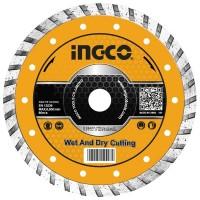 Диск алмазный отрезной ультратонкий 115х22.2 мм INGCO DMD031151HT INDUSTRIAL