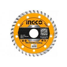 Диск алмазный отрезной 125 мм INGCO DMD031252M