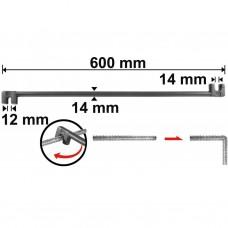 Струбцина для гибки арматуры 600 мм INGCO HBB12141