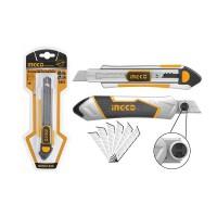 Нож с сегментным лезвием INGCO HKNS1808