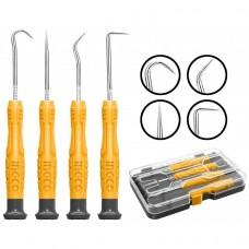 Набор крючков для слесарных работ 4 шт. INGCO HKPHS0401