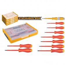 Набор диэлектрического инструмента 10 шт. INGCO HKTV01S101 INDUSTRIAL