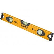 Уровень строительный алюминиевый 40 см INGCO HSL18040