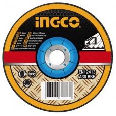 Абразивный отрезной диск по металлу 230 мм INGCO MCD302301