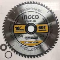 Диск пильный по дереву 254*30 мм 60Т INGCO TSB125423 INDUSTRIAL