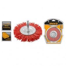 Щетка плоская нейлоновая 100 мм INGCO WB41005