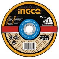 Диск отрезной по металлу 180х1.6х22.2 мм INGCO MCD301802